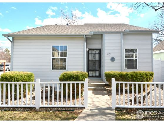 1212 Stoney Hill Drive #47 Fort Collins, CO 80525